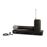 Shure BLX1288-CVL Combo Handheld+ Lapel Dual Wireless System