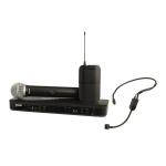 Shure BLX1288-PGA31 Combo Handheld+ Headset Dual Wireless System