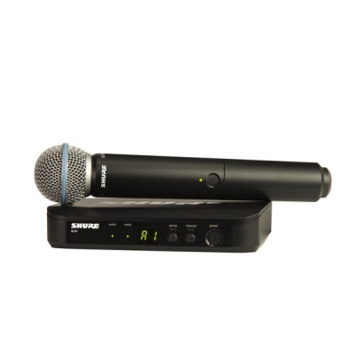 Shure BLX24-Beta58a Handheld Wireless System