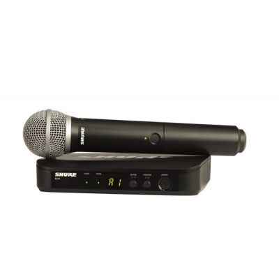 Shure BLX24-PG58 Handheld Wireless System