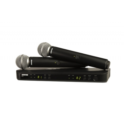 Shure BLX288-SM58 Dual Handheld Wireless System