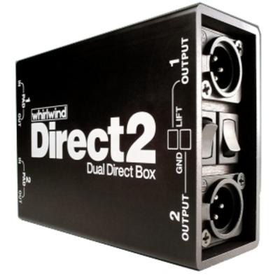Whirlwind Direct2 - Dual Channel Premium Direct Box