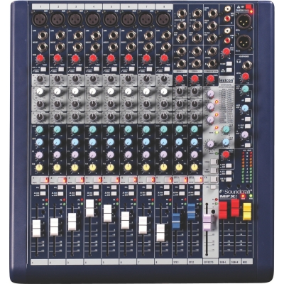 Soundcraft MFXi8 8-mono 2-stereo Mixer with effects