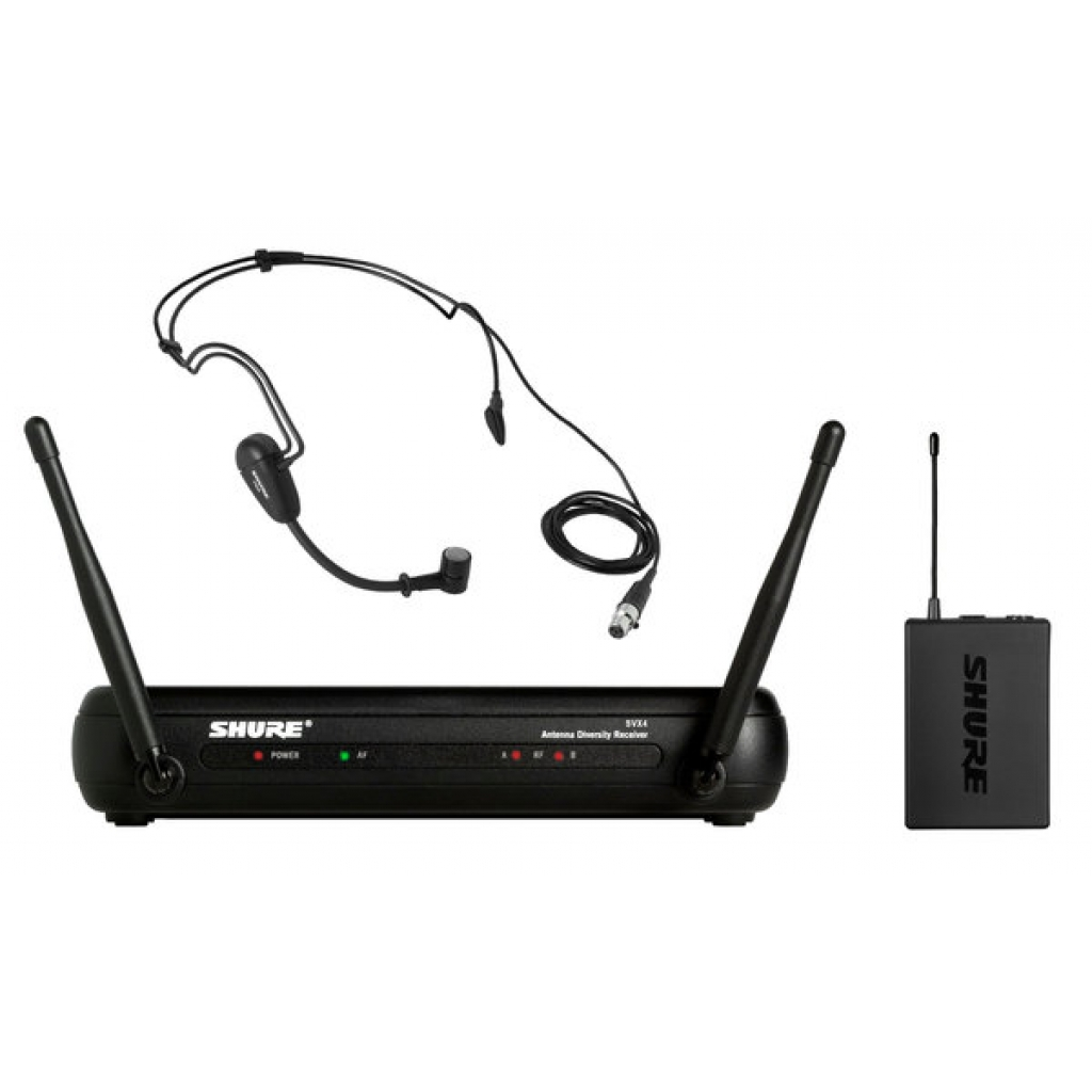 shure svx14 pg30 headset wireless system with pg30 headset mic. Black Bedroom Furniture Sets. Home Design Ideas