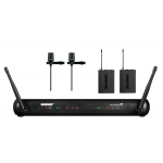 Shure SVX188-CVL Dual Lapel Wireless System with CVL Centraverse Lapel Mic