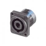 Neutrik NL4MP panel mount Speakon connector