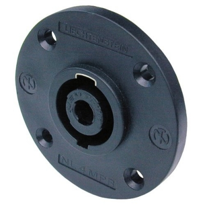 Neutrik NL4MPR panel mount Speakon connector