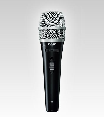 Shure PG Instrument Cardioid Dynamic Mic with cable