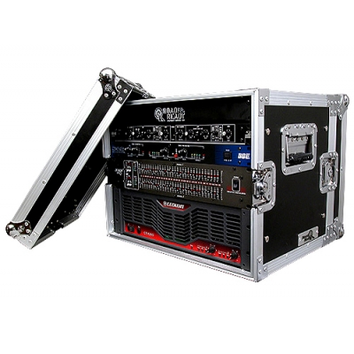Road Ready 8U Effects Rack