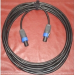 15m 2 core Speakon NL4 speaker cable