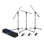 Samson BL3VP Boom Mic Stand and Cable 3 Pack